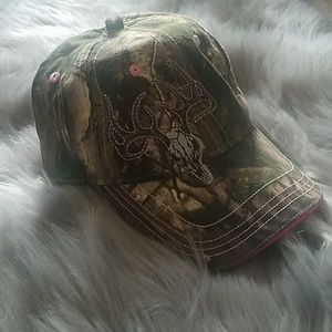 Gander Mountain Pink and Camo hat